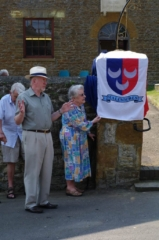 Unveiling of the Historical Society plaque - June 2010