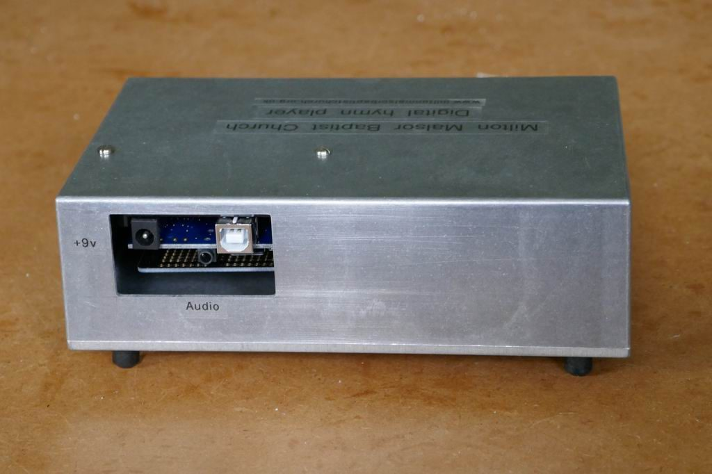 Player rear panel